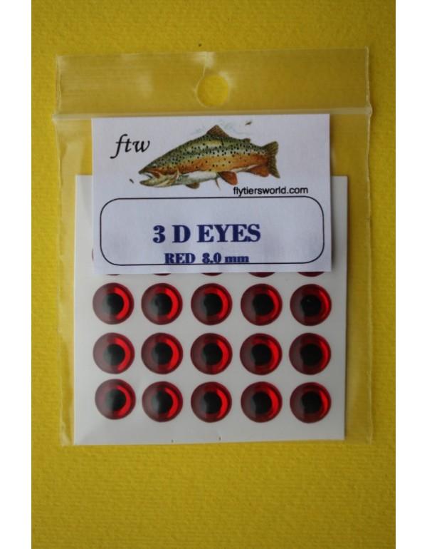 FTW 3D EYES Red