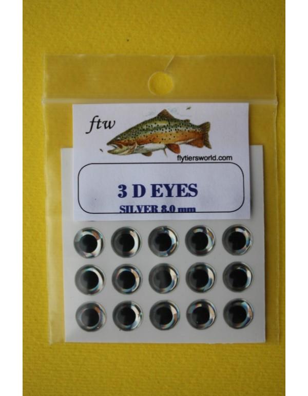 FTW 3D EYES Silver