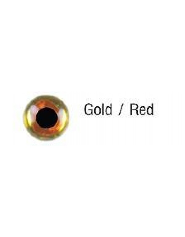 FTW FROG'S EYES Gold Red