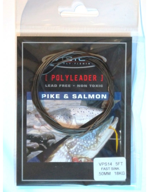 POLYLEADER VISION 5' SALMON