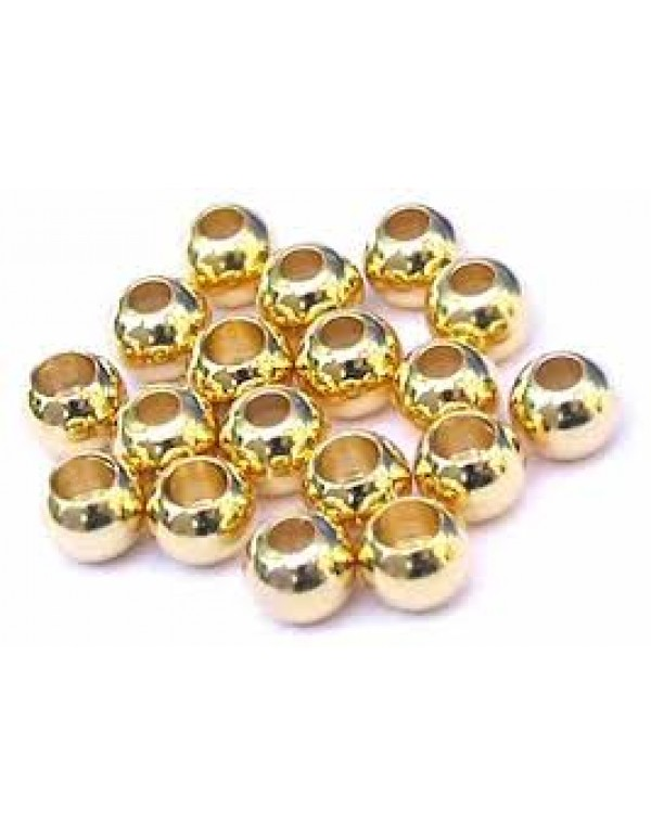 BRASS BEADS 20 pcs