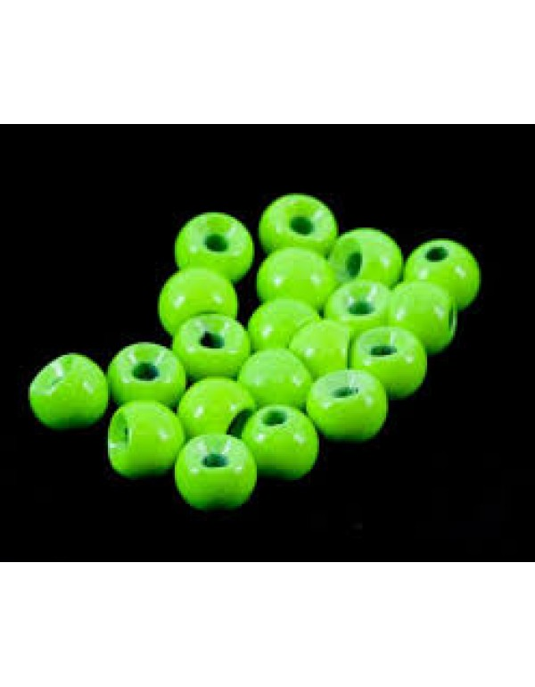 TUNGSTEN BEADS FLUO GREEN