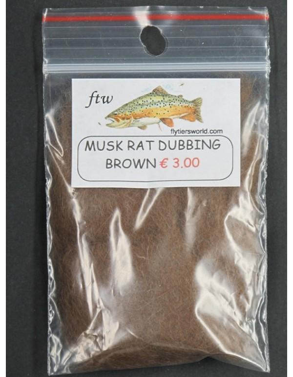 MUSK RAT DUBBING