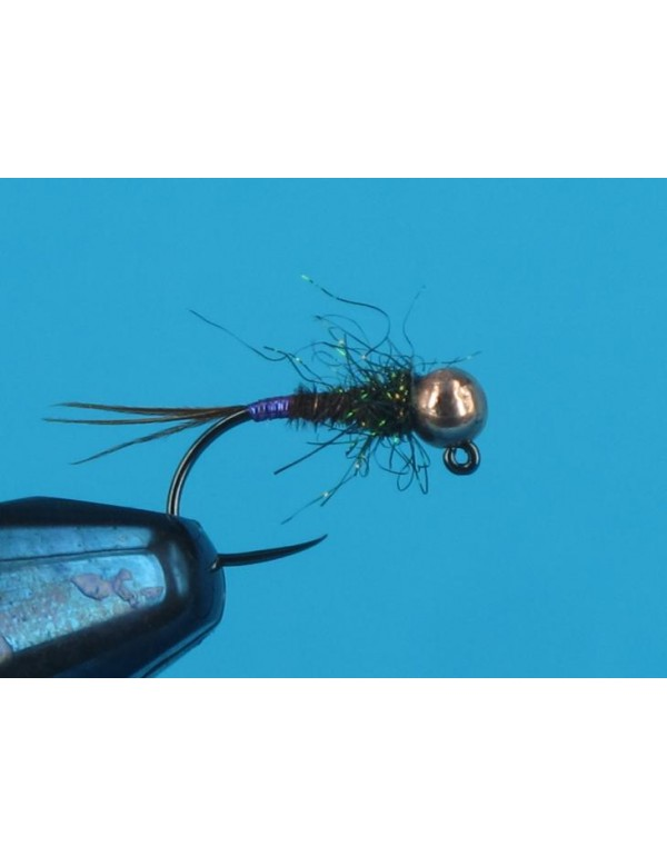 JIG PT FLASH PURPLE TAIL
