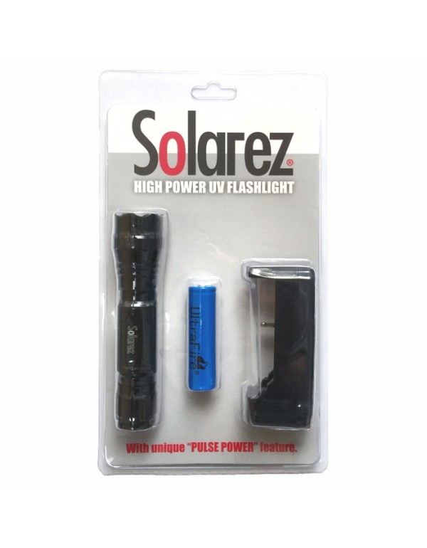 SOLAREZ HIGH POWER UV FLASHLIGHT
