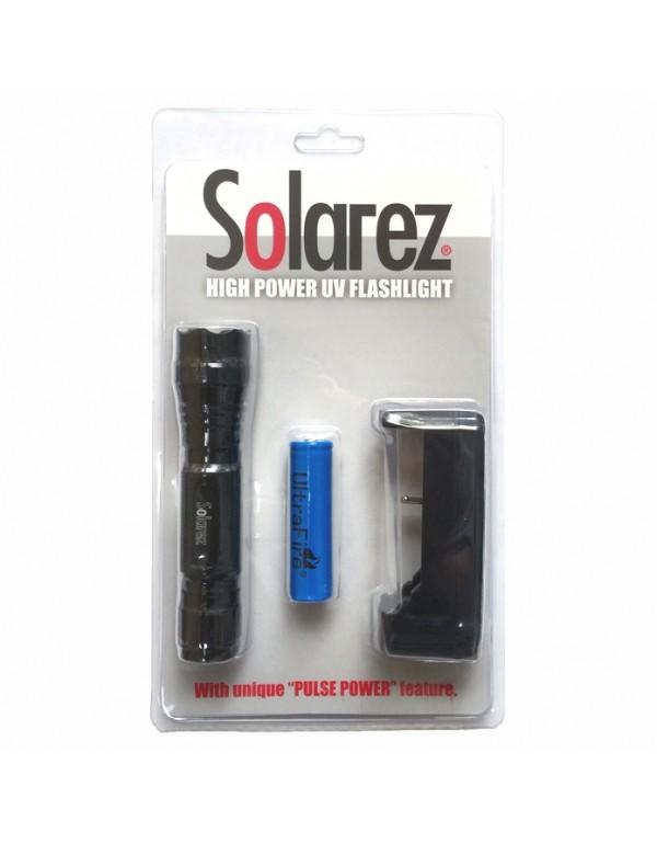 SOLAREZ HIGH POWER UV FLASHLIGHT