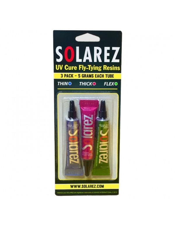 SOLAREZ RESIN UV 3 PACK