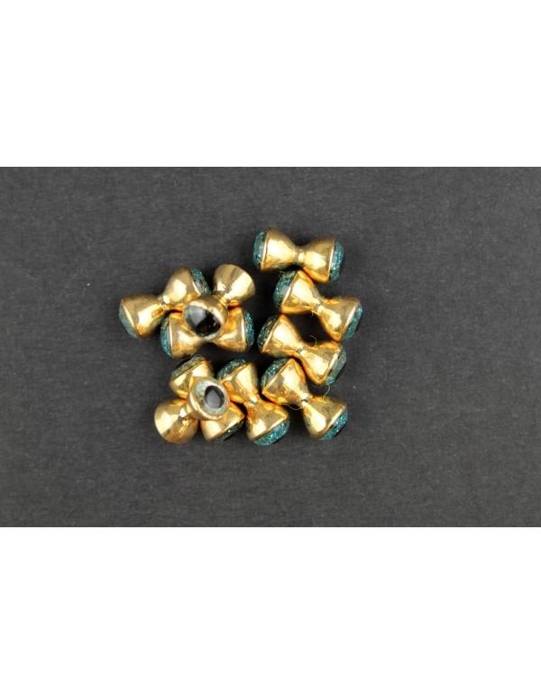 FTW SPARKLE EYES GOLD BLUE