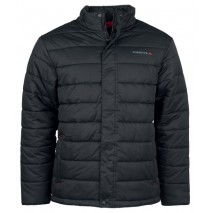 STRATA QUILTED JACKET BLACK